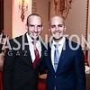 Clay Boggs, Juan Gonzalez. Photo by Tony Powell. 2015 WOLA Human Rights Awards. Mayflower. October 28, 2015