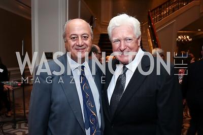 Habib Debs, Rep. Jim Moran. Photo by Tony Powell. 2015 World Affairs Council Gala. Ritz Carlton. June 9, 2015