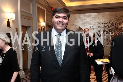 Uzbekistan Amb. Bakhtiyar Gulyamov. Photo by Tony Powell. 2015 World Affairs Council Gala. Ritz Carlton. June 9, 2015