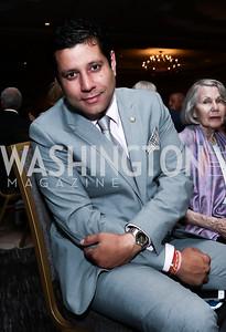 Trinidad and Tobago Amb. Dr. Neil Parsan. Photo by Tony Powell. 2015 World Affairs Council Gala. Ritz Carlton. June 9, 2015