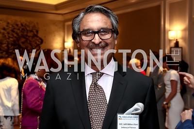 Pakistan Amb. Jalil Abbas Jilani. Photo by Tony Powell. 2015 World Affairs Council Gala. Ritz Carlton. June 9, 2015