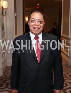 Cameroon Amb. Joseph Charles Bienvenu Foe-Atangana. Photo by Tony Powell. 2015 World Affairs Council Gala. Ritz Carlton. June 9, 2015