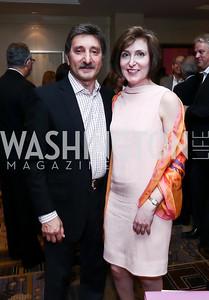 Salo and Randi Levinas. Photo by Tony Powell. 2015 YOA Pan American Gala. Four Seasons Hotel. April 30, 2015