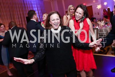 Lizette Corro, Jennifer Nobil. Photo by Tony Powell. 2015 YOA Pan American Gala. Four Seasons Hotel. April 30, 2015