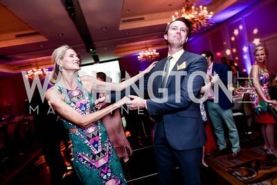 Paige Speyer, Tim Shirk. Photo by Tony Powell. 2015 YOA Pan American Gala. Four Seasons Hotel. April 30, 2015