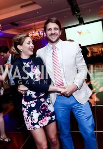 Sophia Newbold, Adam Vitarello. Photo by Tony Powell. 2015 YOA Pan American Gala. Four Seasons Hotel. April 30, 2015