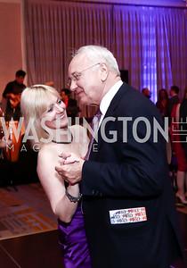 Svitlana and George Chopivsky. Photo by Tony Powell. 2015 YOA Pan American Gala. Four Seasons Hotel. April 30, 2015