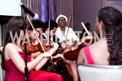 Pedrito Martinez. Photo by Tony Powell. 2015 YOA Pan American Gala. Four Seasons Hotel. April 30, 2015