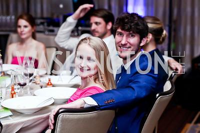Megan Mills, Teddy Downey. Photo by Tony Powell. 2015 YOA Pan American Gala. Four Seasons Hotel. April 30, 2015
