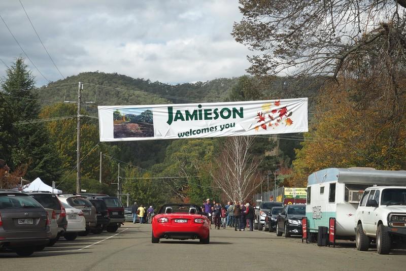 Arriving in Jamieson