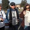 Marg Gillick, Gerald Gill, Katherine Hayton at Wodonga McDonald's