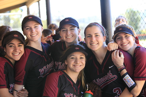 2016-2017 Whitworth Softball