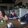 L-R: Anne Marie Quinn, Roger Cowie, Loz Thomas