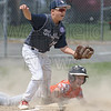 5 - Keene runner is tagged out at third by Kareem Zaghloul.