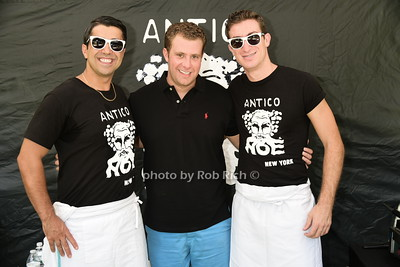 Vinny Vautaj, Michael Grant,  Carmelo Modica photo by Rob Rich/SocietyAllure.com © 2015 robwayne1@aol.com 516-676-3939