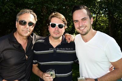 Chase Backer,Mark Zdanow, Claude Zdanow photo by Rob Rich/SocietyAllure.com © 2015 robwayne1@aol.com 516-676-3939
