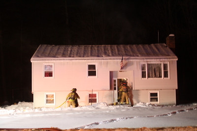 2nd Alarm Hooksett NH. 232 Hackett Hill Road 02/11/2014