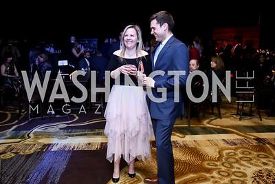 Shannon Hughes, Mac Joiner. Photo by Tony Powell. 2nd Annual BGCGW Casino Night. Ritz Carlton. March 6, 2015