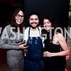 Sarah Gordon, Chef Erik Bruneryang, Sheila Fain. Photo by Tony Powell. 2nd Annual Chef's Roast. Union Market. October 26, 2015