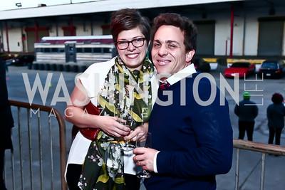 Alice and Jordan Lloyd. Photo by Tony Powell. 2nd Annual Chef's Roast. Union Market. October 26, 2015