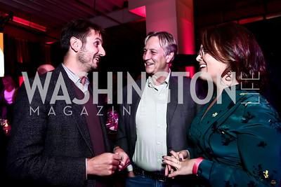 Philippe Lanier, Anthony Lanier, Ashley Koff. Photo by Tony Powell. 2nd Annual Chef's Roast. Union Market. October 26, 2015