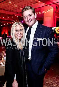 Julie Vavrichek, Daniel Heider. Photo by Tony Powell. 2nd Annual Chef's Roast. Union Market. October 26, 2015