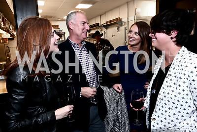 Maura Walsh, Scott Mallan, Jocelyn Babuscio, Katie Peacor. Photo by Tony Powell. 2nd Annual Chef's Roast. Union Market. October 26, 2015