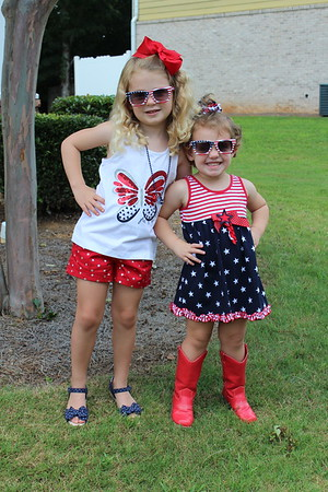 4th of July 2017 (Avery 4/Riley 2)