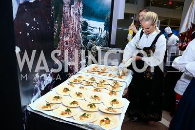 Nina Langli. Photo by Tony Powell. 2015 Embassy Chef Challenge. Reagan Building. May 20, 2015