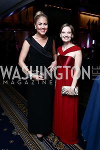 Mira Mulari, Noora Hilska. Photo by Tony Powell. 8th Annual Affairs of State Gala. Press Club. September 19, 2015