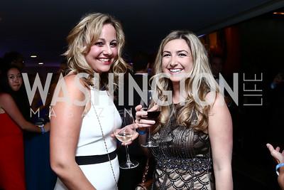 Jana Steenholdt, Liz Shamy. Photo by Tony Powell. 8th Annual Affairs of State Gala. Press Club. September 19, 2015