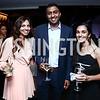 Natasha Yousaf, Sridhar Dronavalli, Monica Shah. Photo by Tony Powell. 8th Annual Affairs of State Gala. Press Club. September 19, 2015