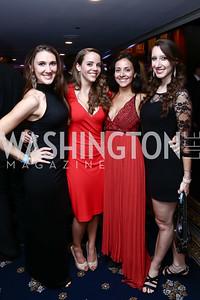 Renie Joie, Elizabeth Dillard, Alexis Martirosian, Ameliah Croft. Photo by Tony Powell. 8th Annual Affairs of State Gala. Press Club. September 19, 2015