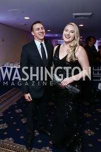 Kyle Nappi, April Deibert. Photo by Tony Powell. 8th Annual Affairs of State Gala. Press Club. September 19, 2015