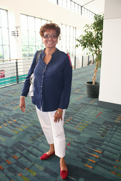 Ninth Triennial Convention | Linda Chinnia, Former executive churchwide president.