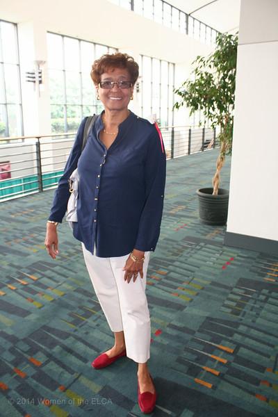 Ninth Triennial Convention   Linda Chinnia, Former executive churchwide president.