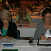 Ninth Triennial Convention | Delegates busy at work during the first plenary.