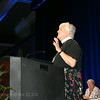 Ninth Triennial Convention | The Rev. Beth Kearney brings greetings on behalf of the Rev. Dr. Leonard Bolick, bishop of the ELCA North Carolina Synod.