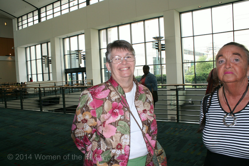 Ninth Triennial Convention | Sally Frank (left) and LaVawn Danielson