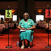 Ninth Triennial Convention | Carolyn Davis (9D), Atlanta, GA, assists at the convention as a microphone page