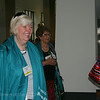 Ninth Triennial Convention | Happy delegates head into the convention center.