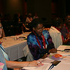 Ninth Triennial Convention | Delegates from Region 7A discuss the Bible study lead by the Rev. Dr. M. Wyvetta Bullock
