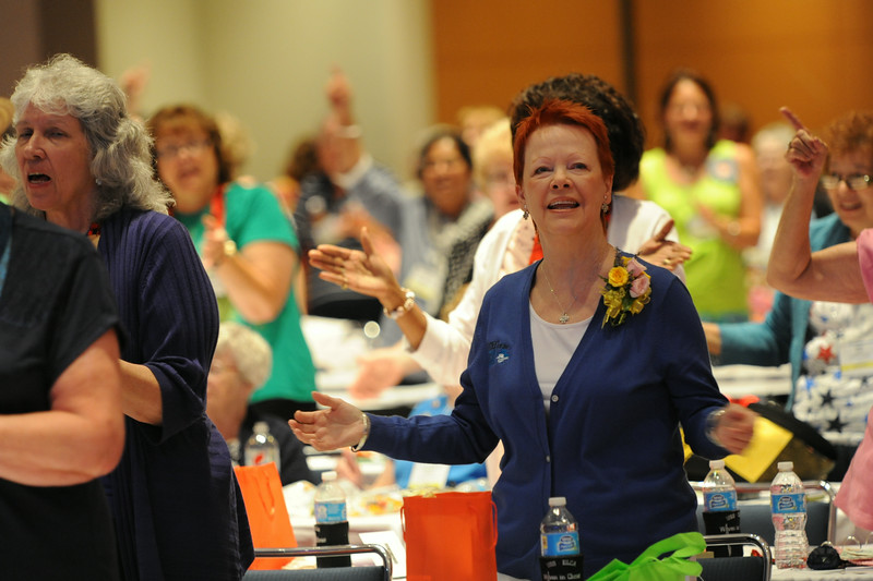 Ninth Triennial Convention | Patti Austin, churchwide executive board president for the 2014-2017 triennium
