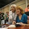 Ninth Triennial Gathering   Hazel Wentzell, Brimingham Al, Faith Lutheran gets her book signed