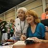 Ninth Triennial Gathering | Hazel Wentzell, Brimingham Al, Faith Lutheran gets her book signed