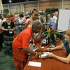 Ninth Triennial Gathering | Louise Hamilton, Atlanta, GA, Emmanuel Lutheran, gets her book signed