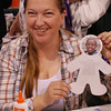 Lynn Albers, Raleigh, N.C., made a paper doll to explore the life of a child who is a beneficiary of the ELCA World Hunger program. The ELCA World Hunger and ELCA Malaria Campaign had Albers and other participants spin a wheel to land on one of many beneficiaries they could use to make a doll. EH.