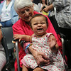 Ninth Triennial Gathering | Dot Wise, Greenwoood, SC, age 97, sits with Jordyn Jackson, Oak Park, IL, the youngest participant at the gathering