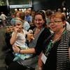 Ninth Triennial Gathering   Anna Humphrey (left) attends her second triennial gathering with mom, Sara Humphrey and grandma, Susan Humphrey