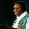 Ninth Triennial Gathering   The Rev. Linda Norman delivered her sermon at closing worship